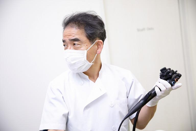 胃カメラ検査による診断